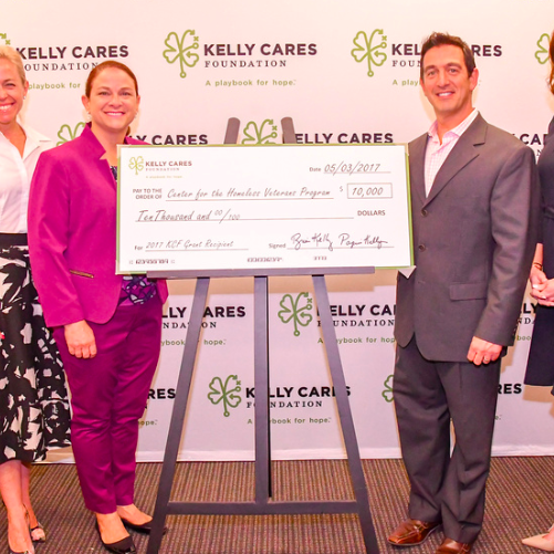 Kelly Cares Foundation Announces 2017 Grant Recipients