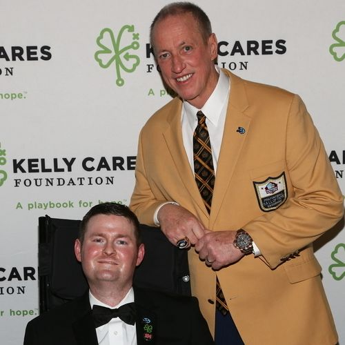 Kelly Cares Foundation Honored Buffalo Bills Great Jim Kelly and ALS Ice Bucket Challenge Co-Founder