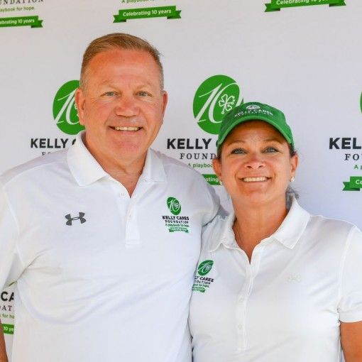 Coach Kelly named 2019 Stallings Award Recipient