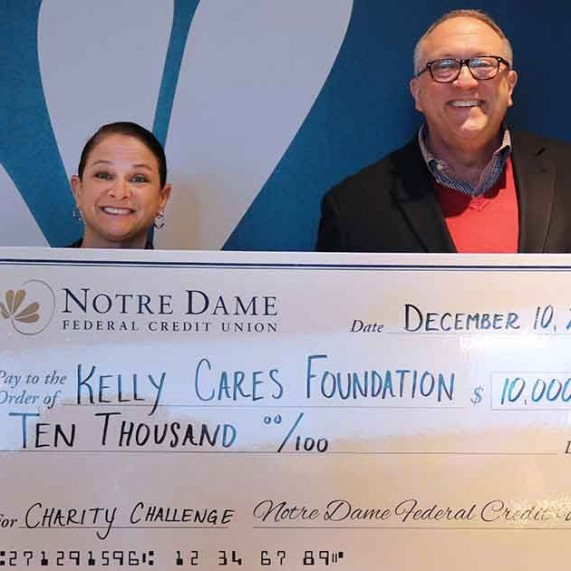 Kelly Cares Wins Charity Challenge